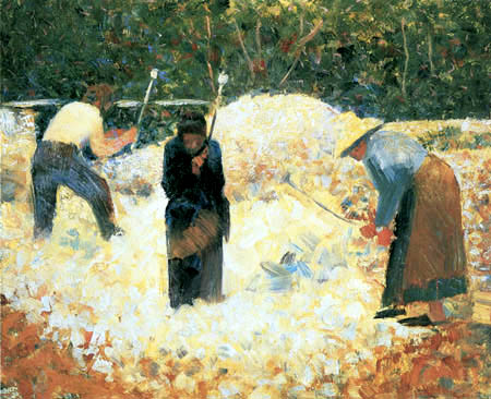 Georges-Pierre Seurat - Stone-breakers