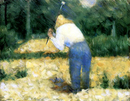 Georges-Pierre Seurat - Stone Crusher