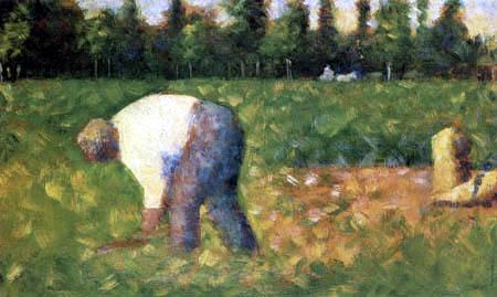 Georges-Pierre Seurat - Feldarbeiter