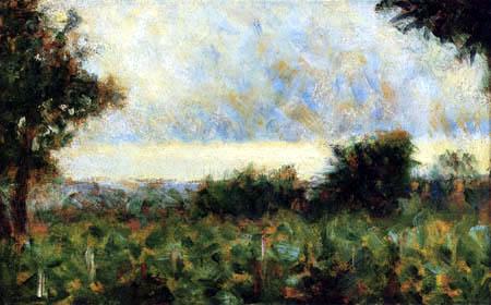 Georges-Pierre Seurat - Landschaft