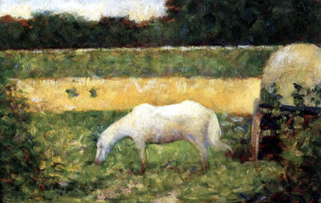 Georges-Pierre Seurat - White Horse