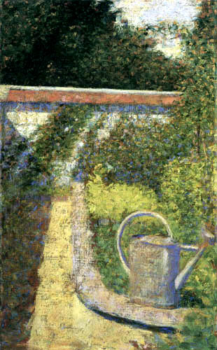 Georges-Pierre Seurat - The watering pot