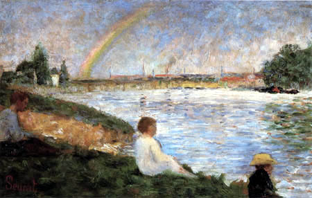 Georges-Pierre Seurat - The Rainbow