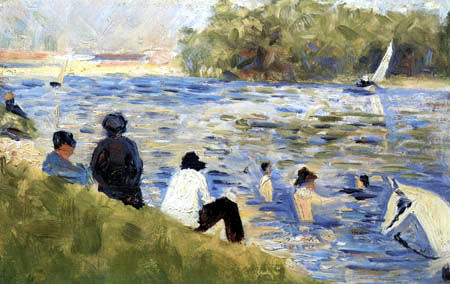 Georges-Pierre Seurat - Bathers