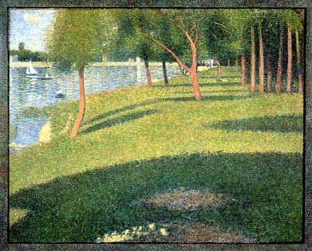 Georges-Pierre Seurat - The island 'La Grande Jatte'