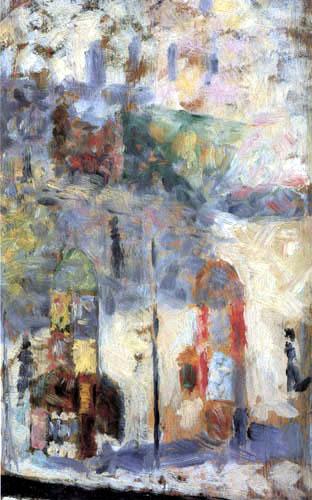 Georges-Pierre Seurat - Straßenszene