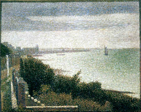 Georges-Pierre Seurat - The English canal near Grandcamp