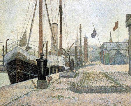 Georges-Pierre Seurat - Havre de Honfleur