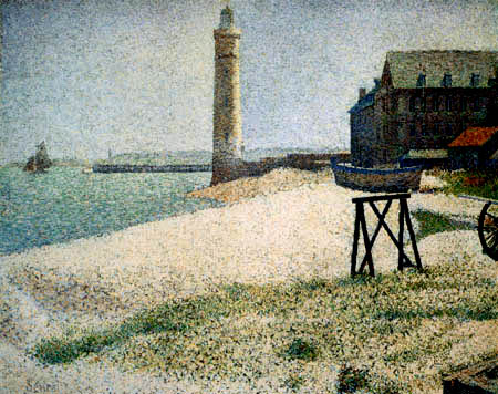 Georges-Pierre Seurat - The Lighthouse of Honfleur