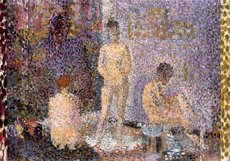 Georges-Pierre Seurat - Modelle, Studie
