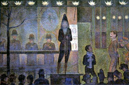 Georges-Pierre Seurat - Parade vor dem Zirkus