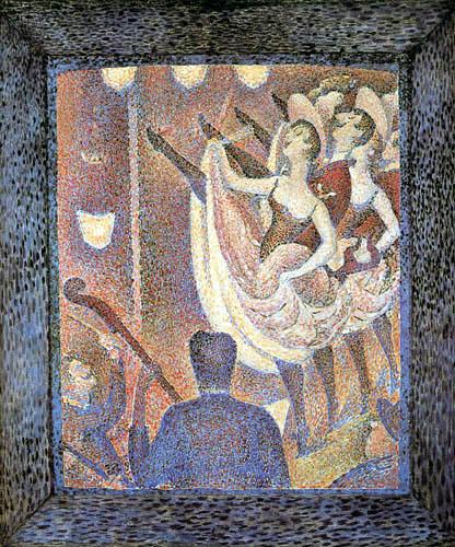 Georges-Pierre Seurat - 'Le Chahut', study