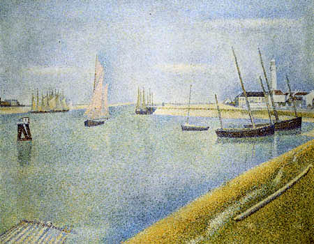 Georges-Pierre Seurat - Canal of Gravelines
