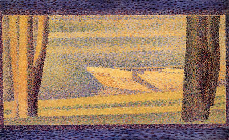 Georges-Pierre Seurat - Boats and trees