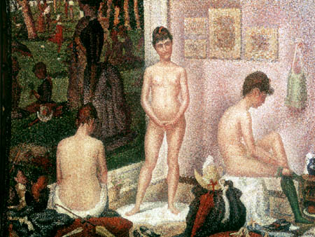 Georges-Pierre Seurat - The models II