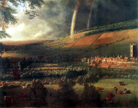 Jan Siberechts - Landscape with Rainbow, Henley-on-Thames
