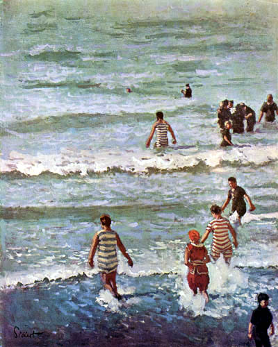 Walter Richard Sickert - The Bathers, Dieppe