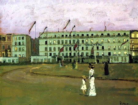 Walter Richard Sickert - Hotel Royal, Dieppe