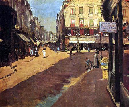 Walter Richard Sickert - Street in Dieppe