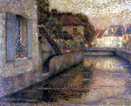 Henri Le Sidaner - Das Fenster in Gisors