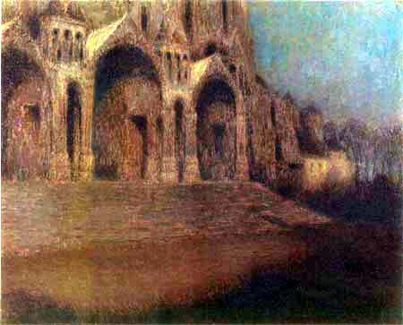 Henri Le Sidaner - The portal of the Cathedral of Chartres