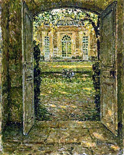 Henri Le Sidaner - The French Pavilion, Trianon, Versailles
