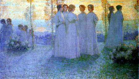 Henri Le Sidaner - The Sunday