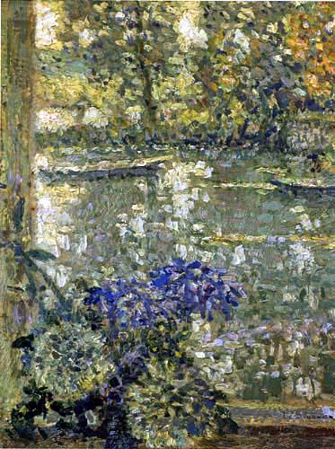 Henri Le Sidaner - Fenster in Montreuil-en-Bellay, Studie