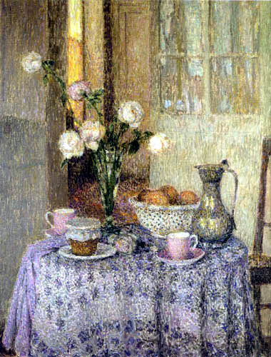 Henri Le Sidaner - The Table