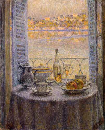 Henri Le Sidaner - The round Table