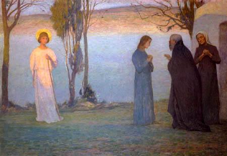 Henri Le Sidaner - Die Rückkehr des Tobias