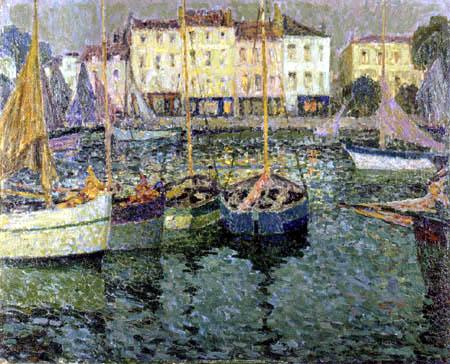 Henri Le Sidaner - Boats
