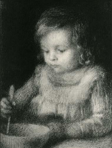 Henri Le Sidaner - Porträt von Louis Le Sidaner, Beauvais