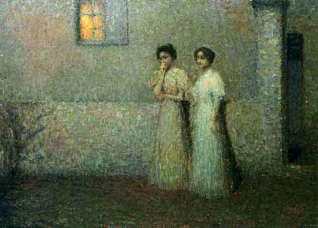 Henri Le Sidaner - Sweet Night, Paris