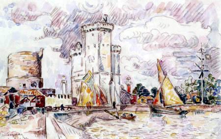 Paul Signac - La Rochelle