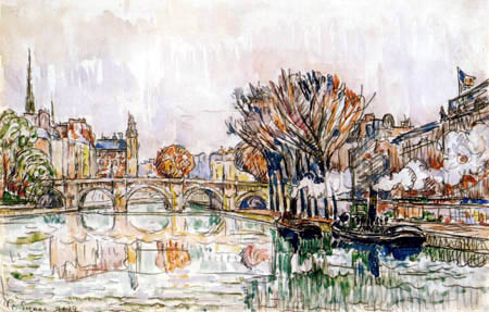 Paul Signac - Pont Neuf, Paris