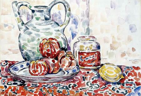 Paul Signac - Still life with jug