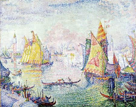 Paul Signac - Basin of San-Marco, Venice