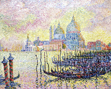 Paul Signac - Grand Canal, Venice