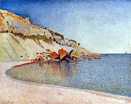 Paul Signac - Cap Lombard, Cassis