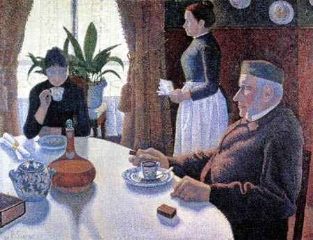 Paul Signac - The Dining Room