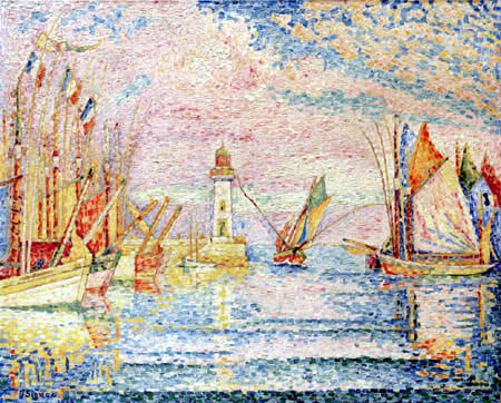 Paul Signac - The Lighthouse of Groix