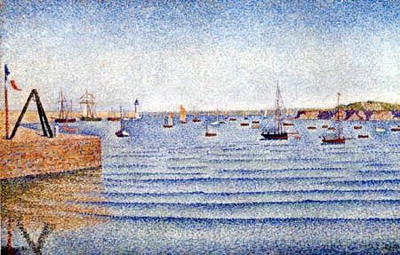 Paul Signac - The Swell, Portrieux