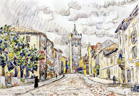 Paul Signac - The Tower, Viviers