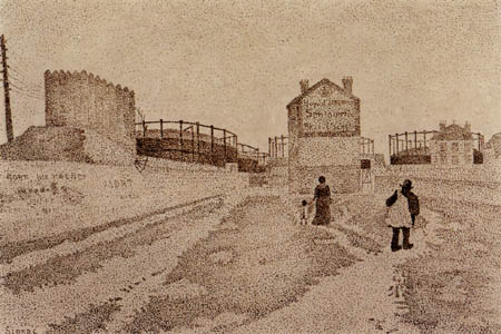 Paul Signac - Passage du Puits-Bertin, Clichy