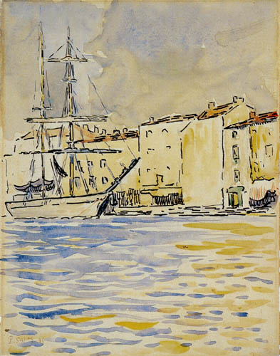 Paul Signac - The Brig