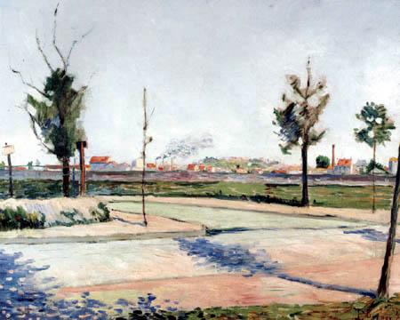 Paul Signac - La route à Gennevilliers