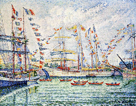 Paul Signac - Pardon der Neufundländer, Saint-Malo