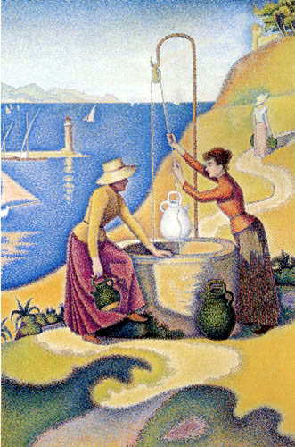 Paul Signac - Frauen am Brunnen