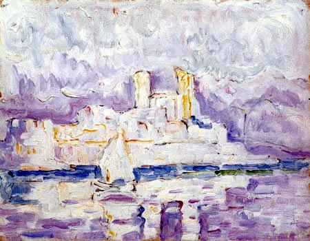 Paul Signac - Morning Mist, Antibes